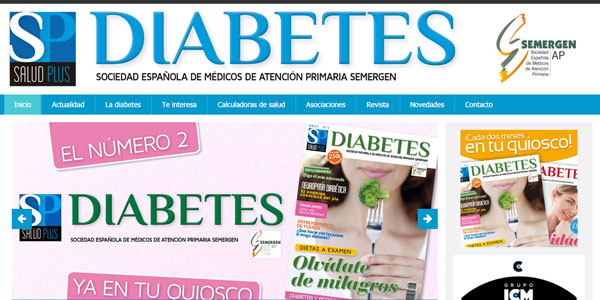 Lanzamiento web Revista SP Diabetes